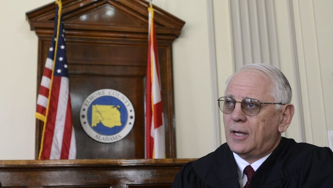 Elmore County Probate Judge John Enslen says the federal government is responsible for upholding and enforcing other laws created at the federal level.