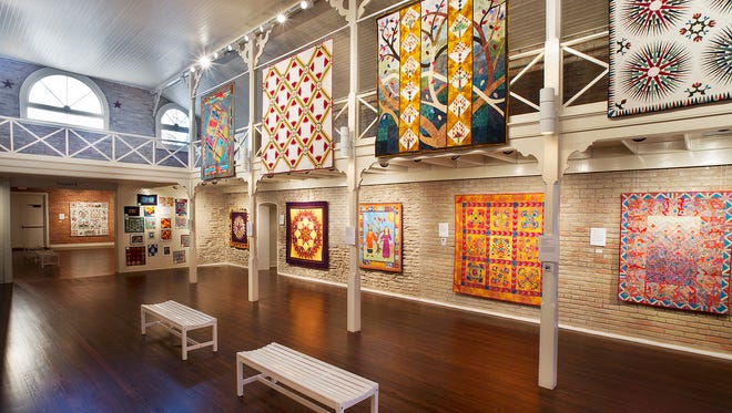 The Texas Quilt Museum in La Grange grew out of Houston's mammoth International Quilt Festival, which started in 1974, and now attracts more than 60,000 visitors every year.