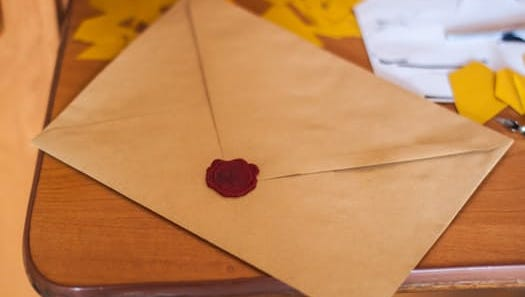 An unexpected love letter ...