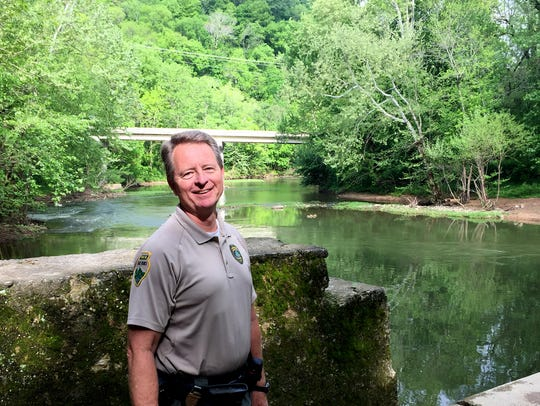 Harpeth River State Park ranger Gary Patterson says