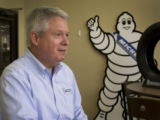 Michelin's latest plant in Mexico will report to Greenville-based
