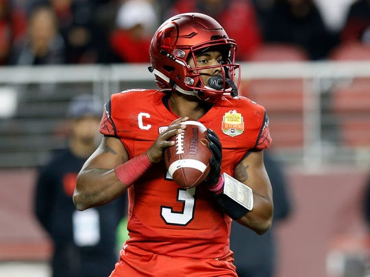 Utah Utes quarterback Troy Williams.