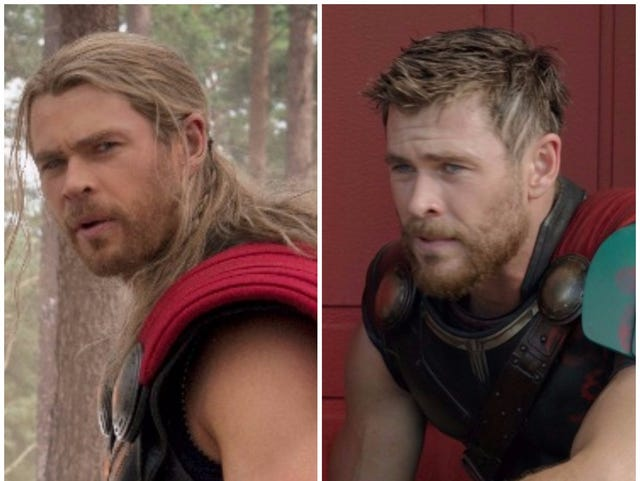 Thor: Ragnarok': What's with the short hair on Chris Hemsworth?