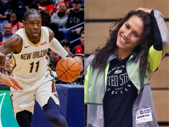Lauren Cheney Holiday and Jrue Holiday