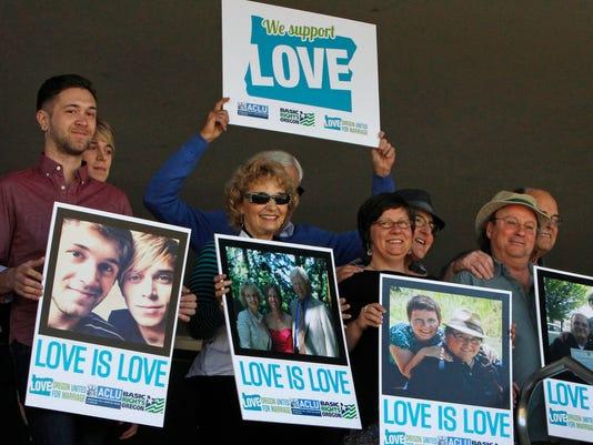 AP Gay Marriage Oregon