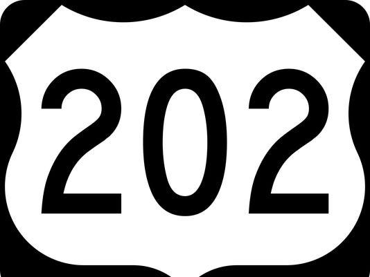 U.S. 202 sign