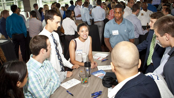 A recent Cincinnati Intern Network Connection event at Great American Ball Park.