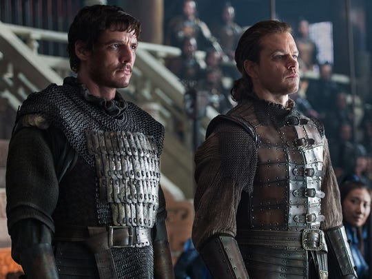 """Pedro Pascal, left, and Matt Damon star in """"The Great Wall."""""""