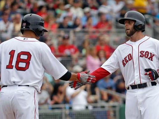 Twins Red Sox Spring Baseball