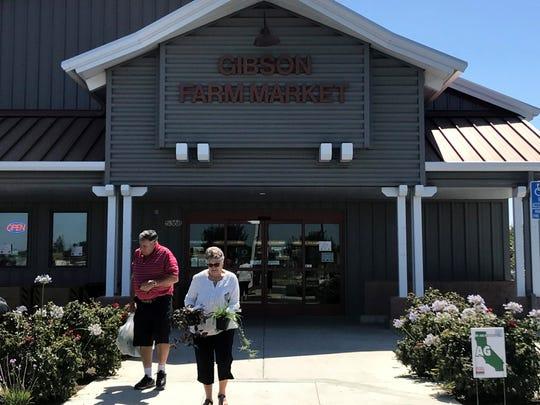 Gibson Farm Market on Fresno State's campus on Thursday, June 28, 2018.