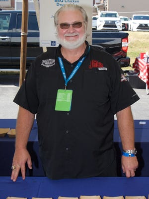 """Myron Mixon, barbecue champion and star of the Destination America reality television show """"BBQ Pitmasters,"""" was in Greenville for the Sunday Brunch: Fired Up! event at Euphoria Sept. 25."""