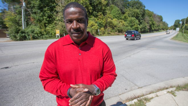 Rev. Theron Williams was pulled over three times during one local drive in his convertible Corvette.