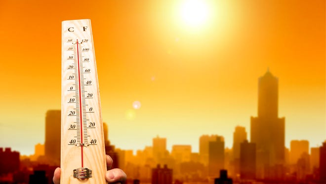 A heat wave is expected to hit New Jersey on Friday.