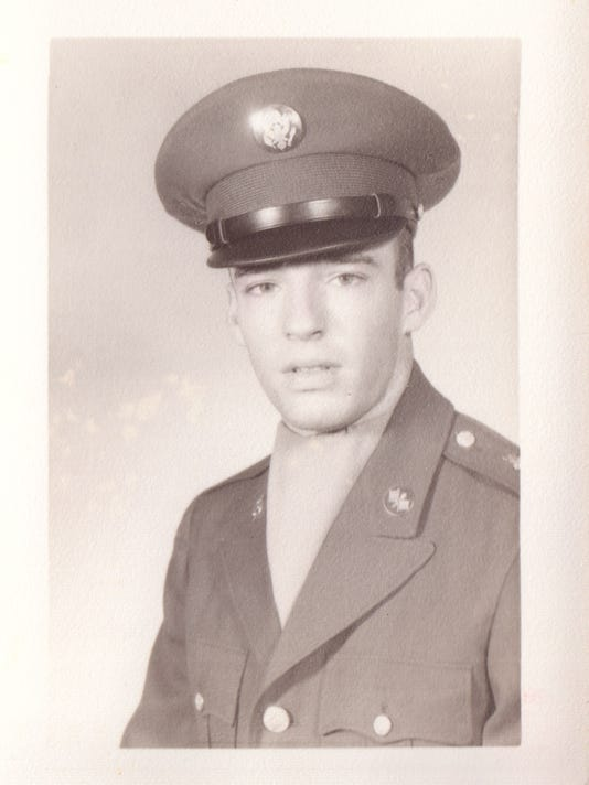 Asa Carson, army portrait