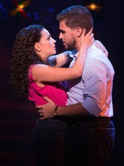 "A scene from ""On Your Feet!"""