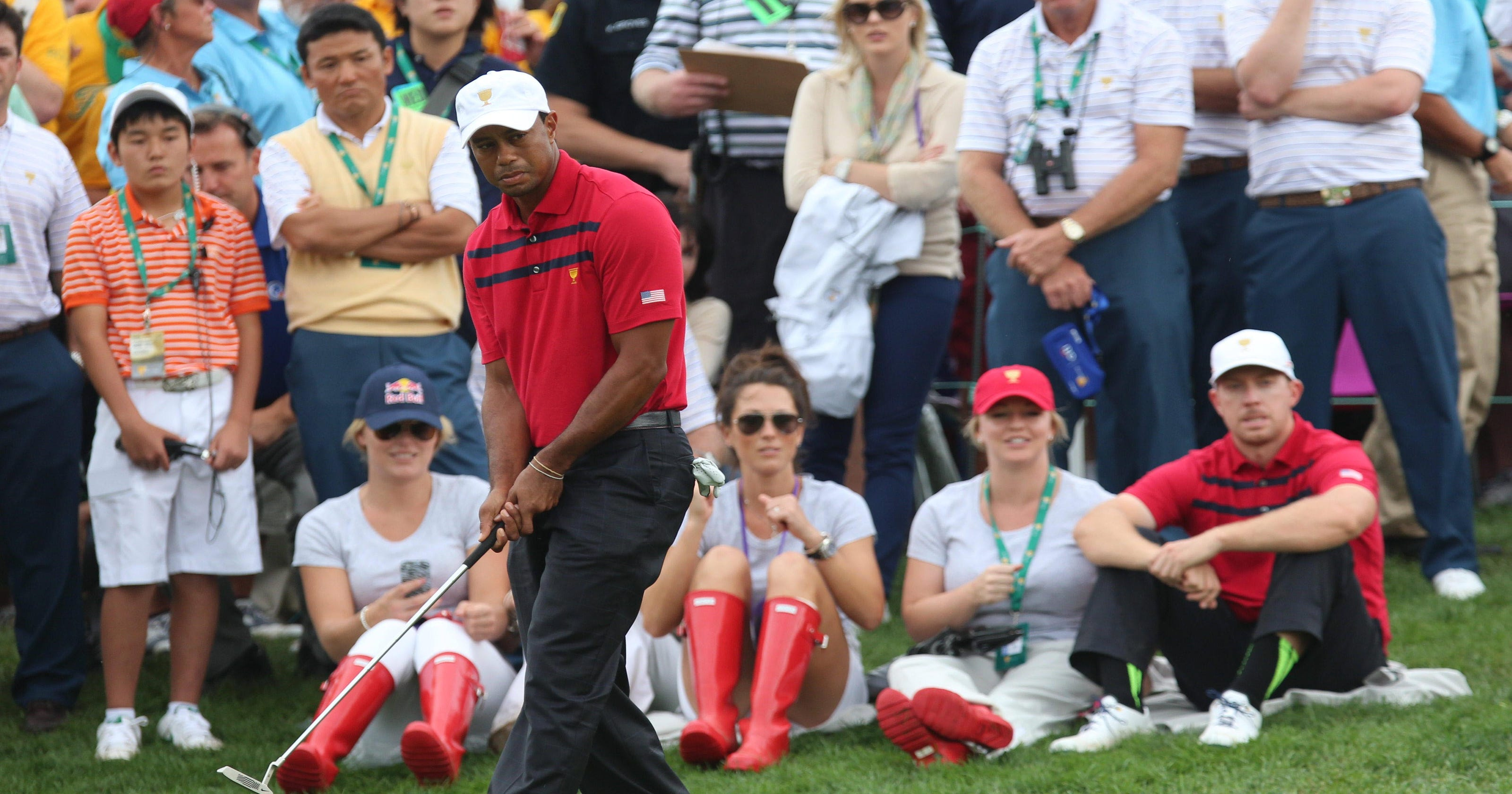 Presidents Cup: USA leads, Internationals try to hang on