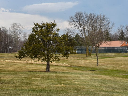 Val Smith Park, shown Monday, April 30, will soon be