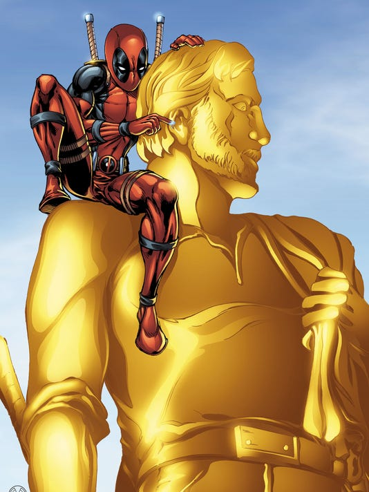 Deadpool and the Golden Pioneer