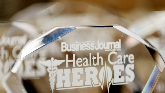 The Knoxville Business Journal Health Care Heroes Award at The Foundry in Knoxville, Tennessee on Thursday, September 7, 2017.
