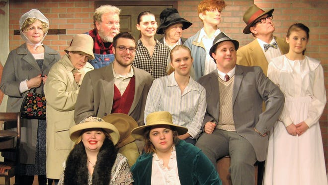 Aubriana Chambers, front, from left, Piper Hill. Second row, Andi Davis, John-Carl Laidler, Kami Roberts, Dylan Gamble, Hannah Kindstrom. Back row, Deb Smith, Bill Simpson, Skylar Jensen, Cindy Young, Reese Villager and Clark Middleton.