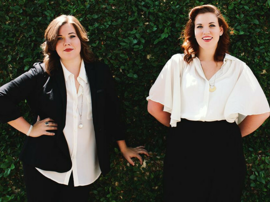 Country duo The Secret Sisters will bring an intimate holiday show to the upstairs stage of World Cafe Live at the Queen in Wilmington on Dec. 8.