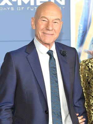 """Patrick Stewart attends the """"X-Men: Days Of Future Past"""" world premiere at Jacob Javits Center on May 10, 2014 in New York City."""