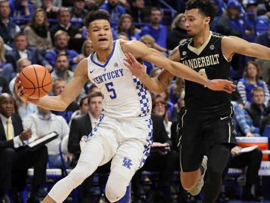 Cowgill 6 Uk Basketball Visits Vanderbilt Tuesday: Kentucky Basketball Pulls Off Another Comeback Against