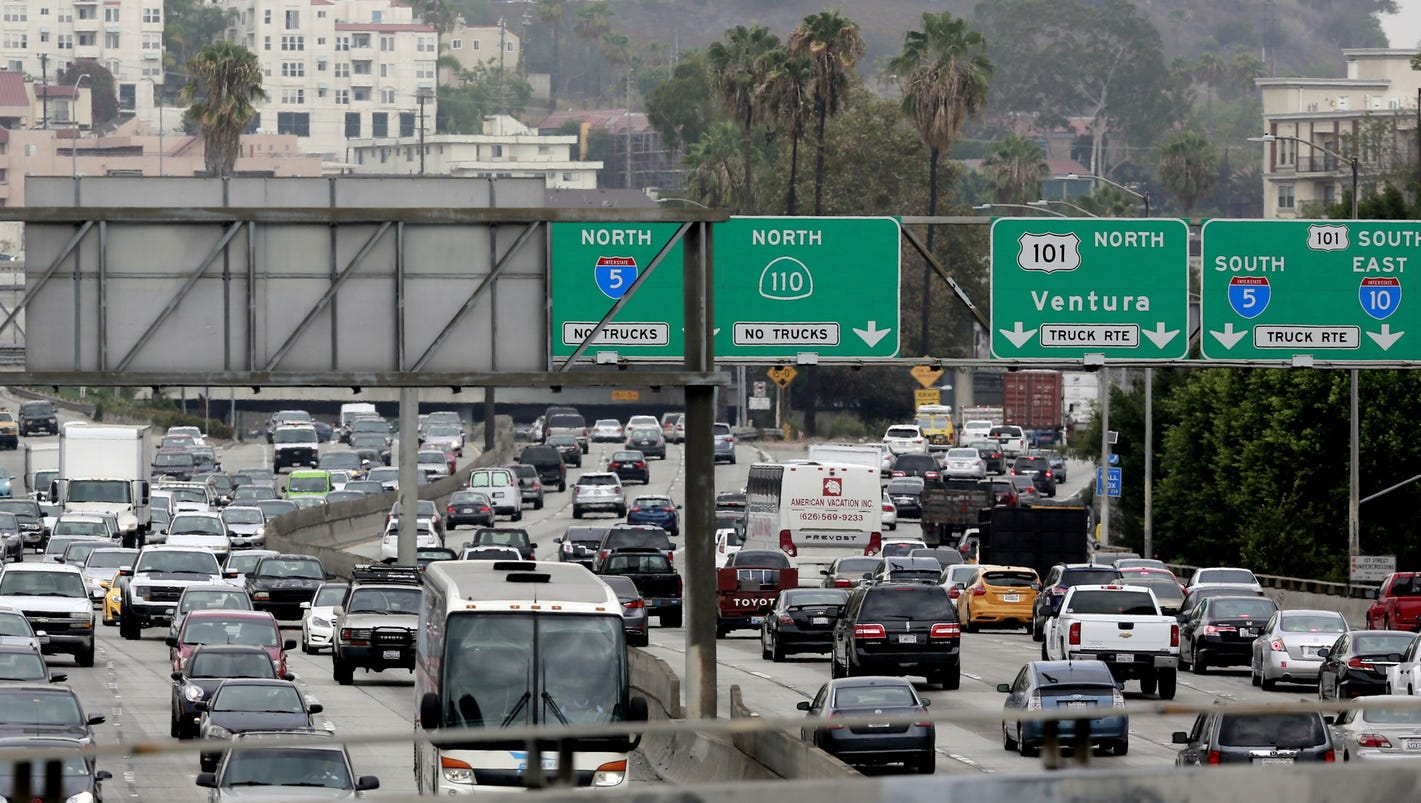 Yep, Los Angeles has the world's worst traffic congestion — again