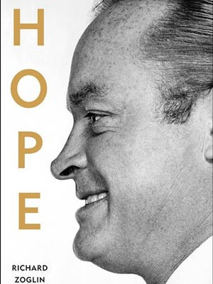 """This photo provided by Simon & Schuster shows the cover of the book, """"Bob Hope: Entertainer of the Century"""" (Simon & Schuster), by Richard Zoglin. (AP Photo/Simon & Schuster)"""