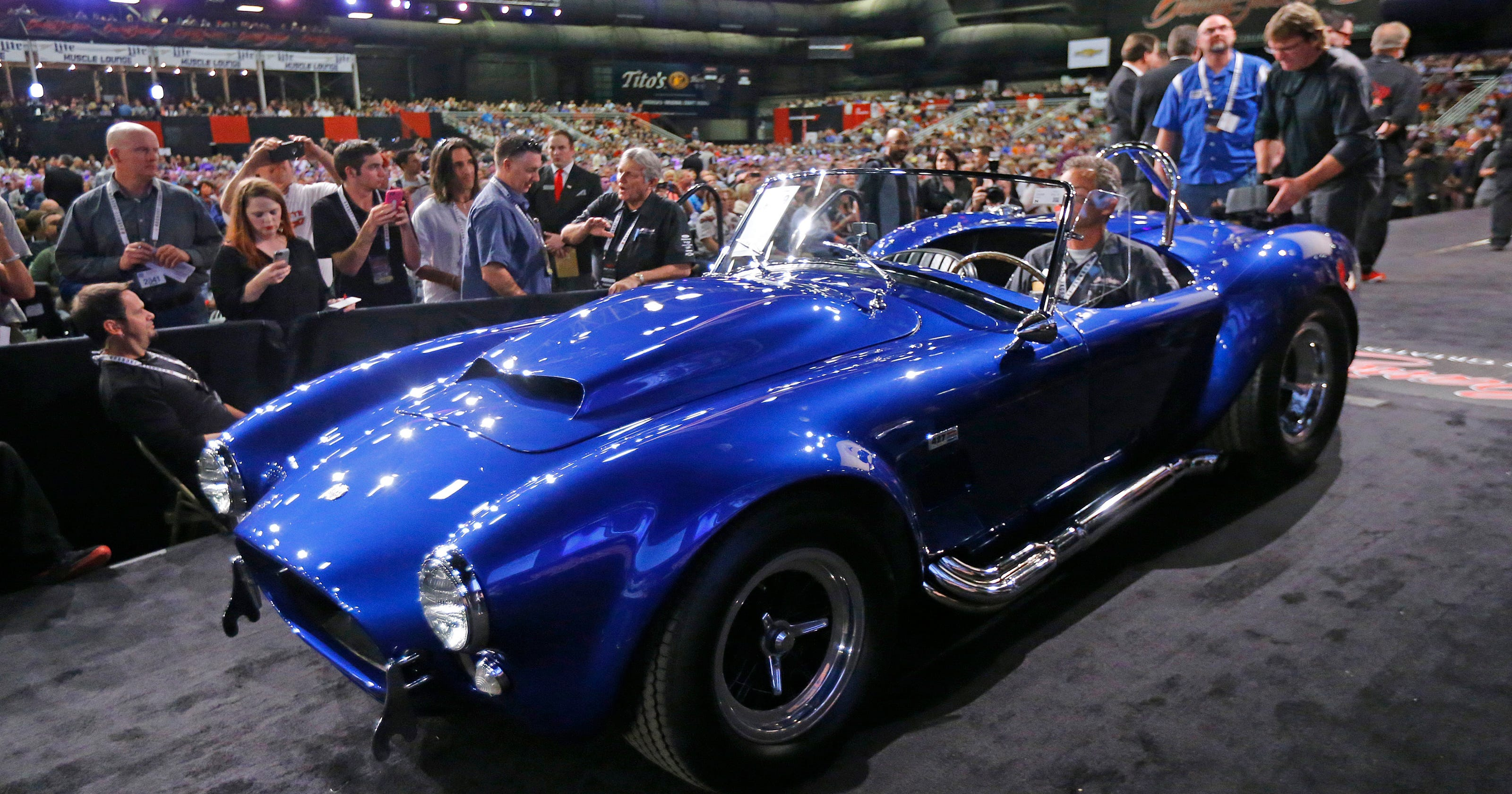 Muscle cars lead resurgence in classic car prices