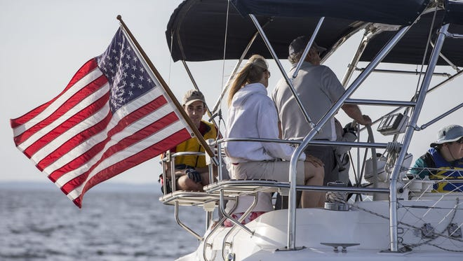 A Special Olympics Sailing Program sails out of the Atlantic Highlands Yacht Club once a week throughout the summer to help those with special needs.