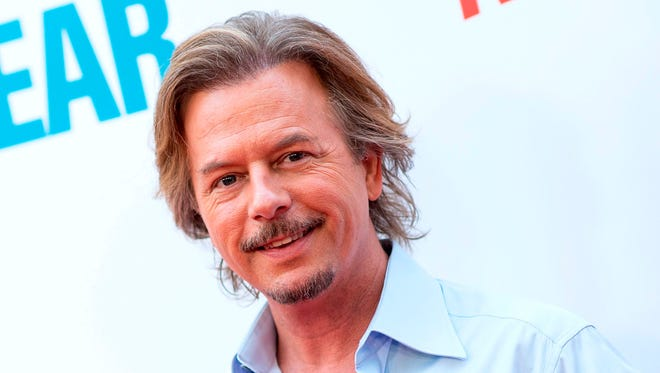 """David Spade, seen last year at a film premiere, is the latest to try the post-""""Daily Show"""" slot on Comedy Central."""