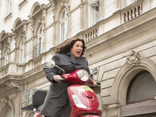 In 'Spy,' the clothes make Melissa's undercover agent