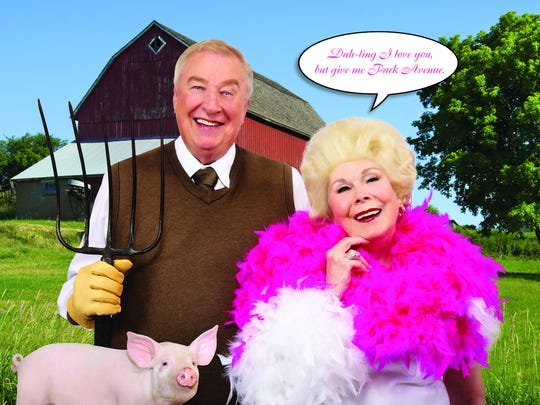 Barb and Bob Munter spoof Green Acres.