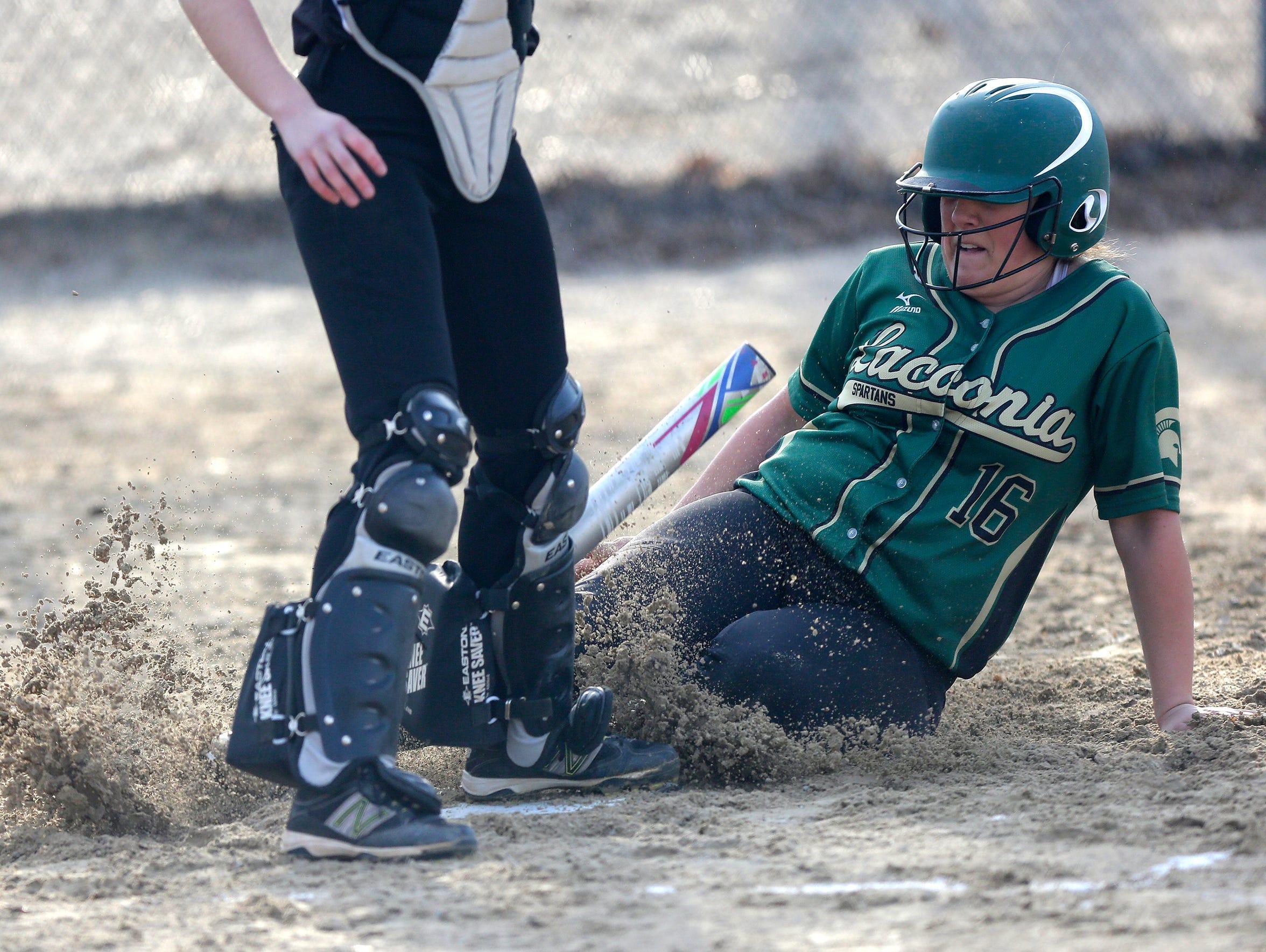 Payton Kastenschmidt of Laconia High School girls softball
