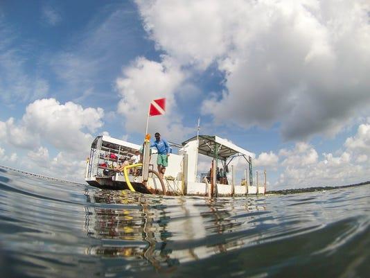 UWF maritime students dive into Luna history