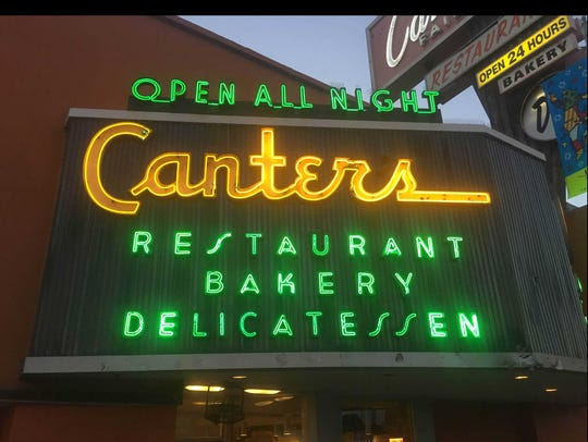 Canter's Delicatessen, restaurant and bakery in Los