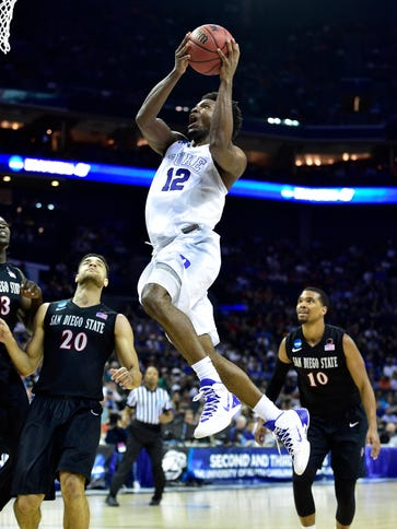 Duke's Justise Winslow has had three consecutive double-figure