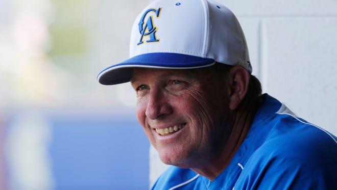 Crawfordsville baseball coach John Froedge.