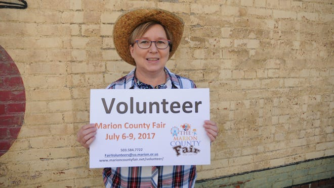 Marion County Fair volunteer coordinator Mary Grim at the Statesman Journal's Holding Court at the Court Street Dairy Lunch in downtown Salem on Tuesday, June 20, 2017.