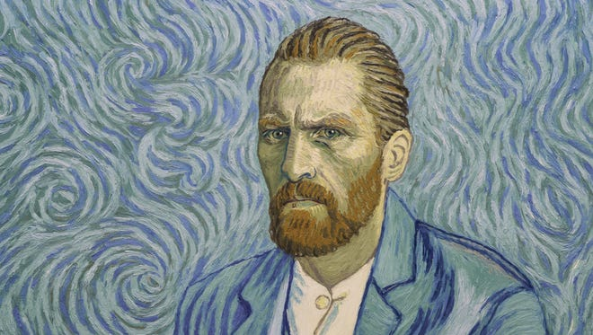 """Vincent van Gogh (Robert Gulaczyk) in a scene from """"Loving Vincent."""""""