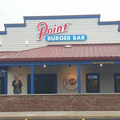 The Point Burger Bar has opened at 10960 W. Good Hope Road in Milwaukee.