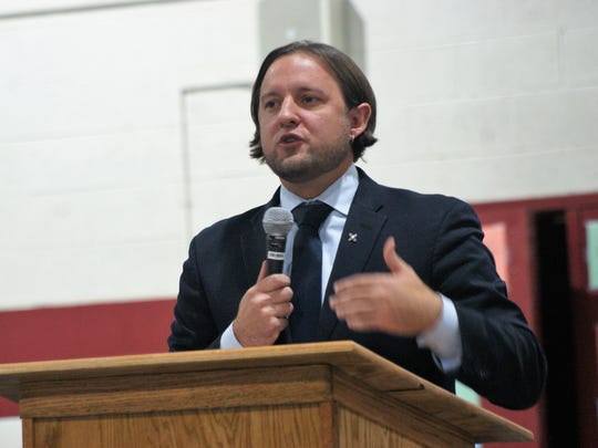 "NM PED Secretary-designate Christopher Ruszkowski described Alfaro as ""exemplary in so many ways."""