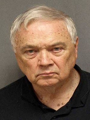 This undated photo released by the U.S. Marshal service shows Rev. Robert F. Poandl. Poandl, a Roman Catholic priest, was sentenced to seven and one-half years in prison Wednesday, Feb. 12, 2014, after being convicted of taking a 10-year-old boy to West Virginia for sex more than two decades ago.