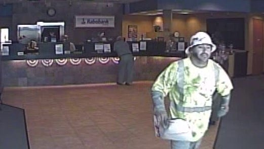 Ventura police were looking for a man who robbed a Rabobank on Friday afternoon, police said.