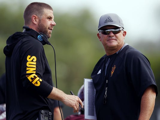 Todd Graham and Billy Napier