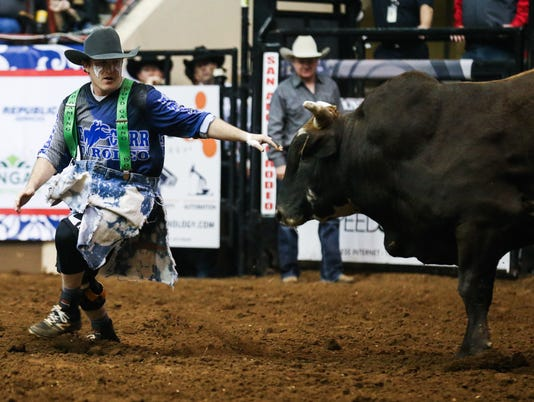 5th performance of the San Angelo Stock Show & Rodeo Friday, Feb. 9, 2018