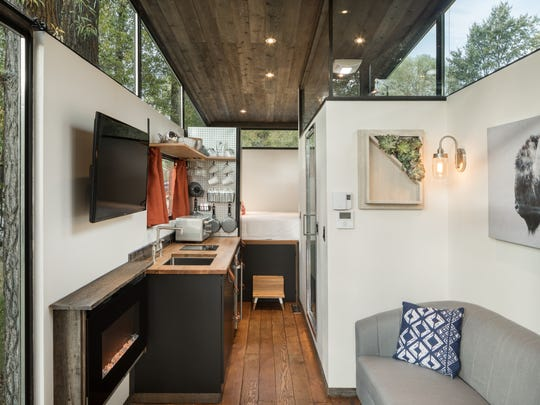 Tiny houses: Vacation rentals provide test drive on