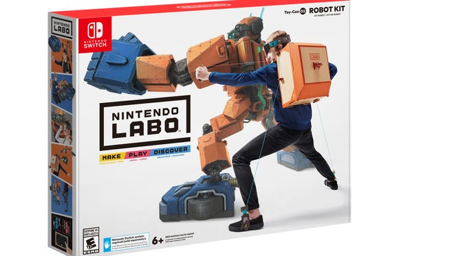 Nintendo Labo Robot Kit ($79.99)