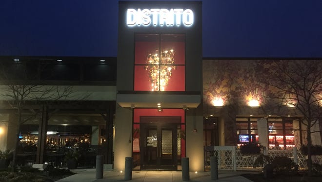 The lights are going out at Distrito at the Moorestown Mall.